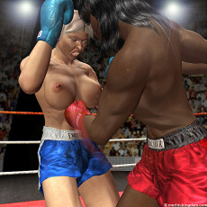 Excellent, japanese topless boxing